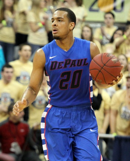 Name: Brandon Young College: DePaul Position: Point guard Year: Senior High school: Friendship Collegiate Academy (D.C.) Hometown: Baltimore 2012-13 stats: 16.7 points, 4.6 assists, 3.3 rebounds, 43.8% shooting The 6-foot-4, 192-pound point guard will graduate from DePaul next year as one of the most productive Blue Demons ever. Young is the only player in DePaul history with 1,200 points, 400 assists and 100 3-pointers. He's also the first Blue Demons player to have 100 assists in three consecutive seasons since longtime NBA guard Rod Strickland (1985-88), and is sixth all-time in the category with 408. Charles LeClaire/USA TODAY Sports