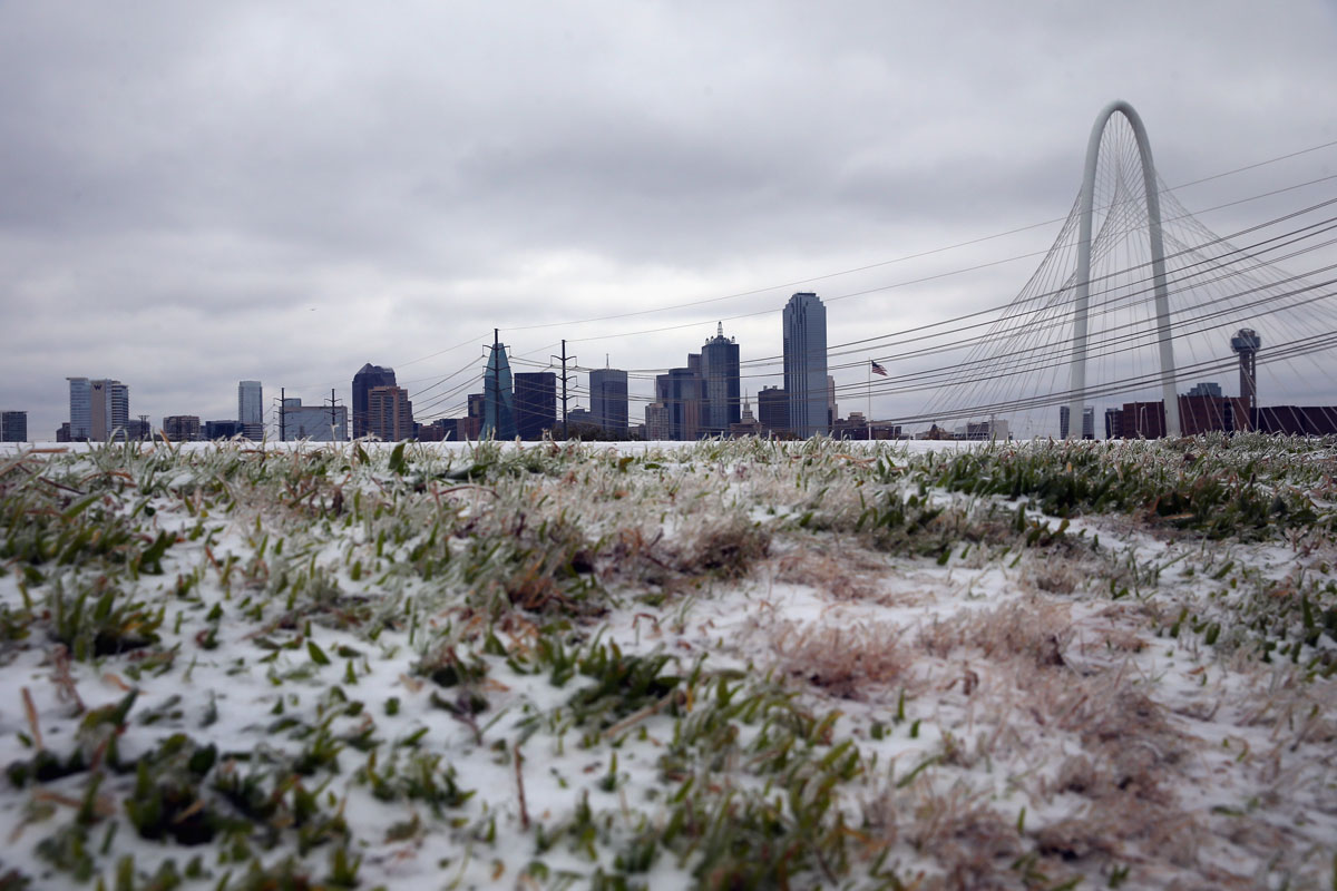 Texas in a deep freeze after deadly ice storm