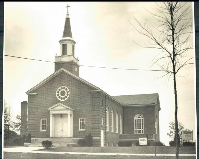 The Northwood-Appold Methodist Church on Feb. 22, 1982. (Baltimore Sun File)