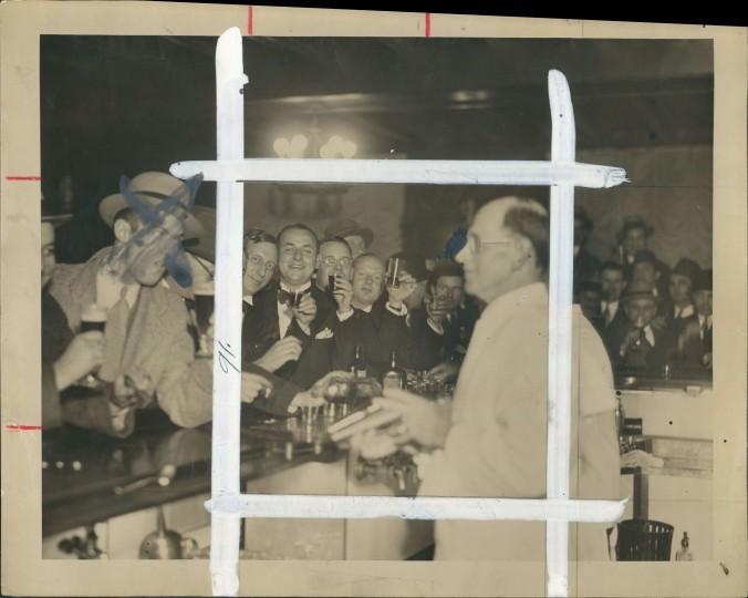 Celebrating the end of Prohibition on Dec. 5, 1933. (Baltimore Sun file)