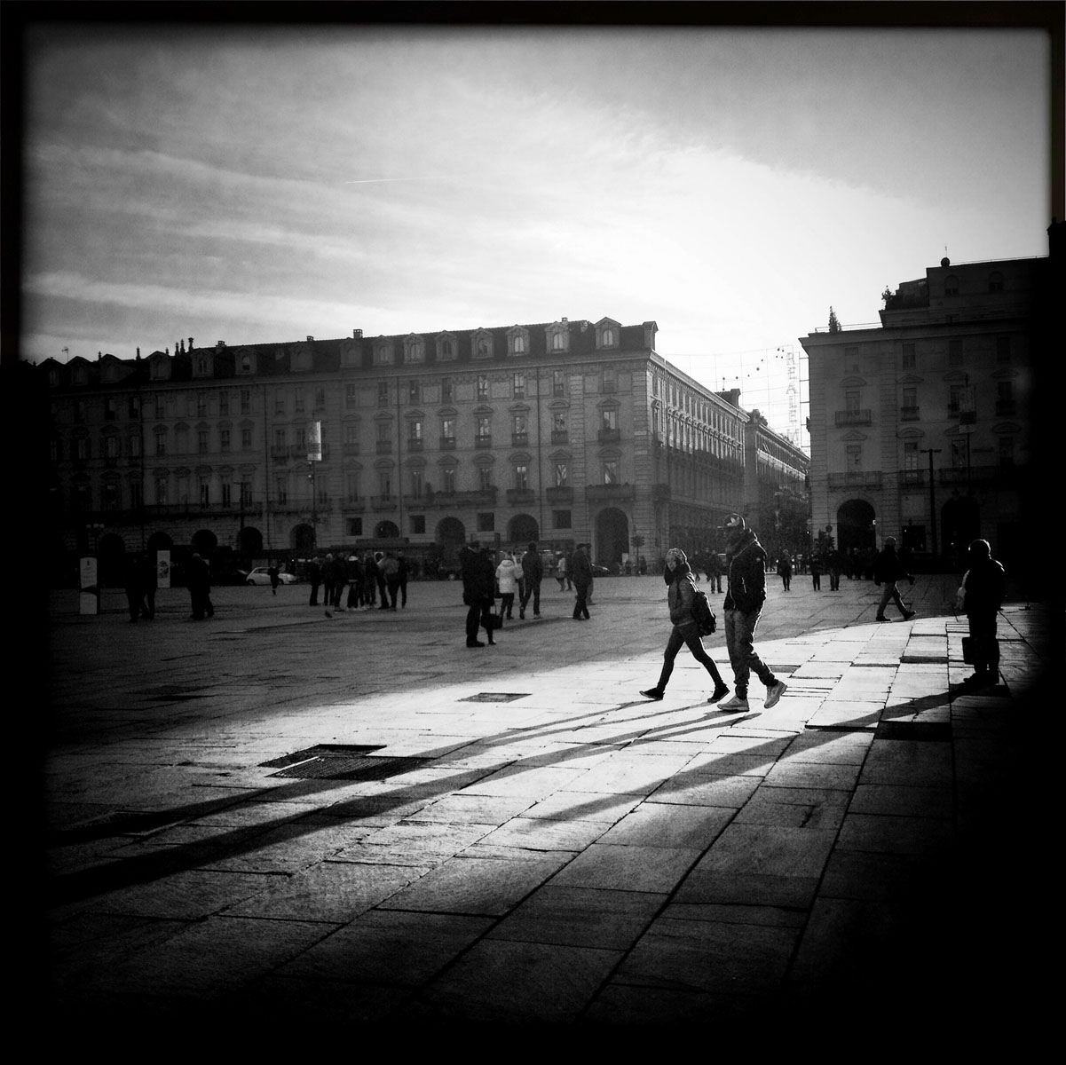 Smartphone photography of Turin, Italy