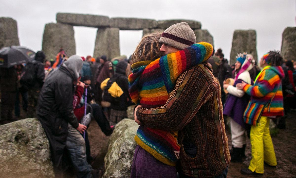 & Celebrating Winter Solstice at Stonehenge