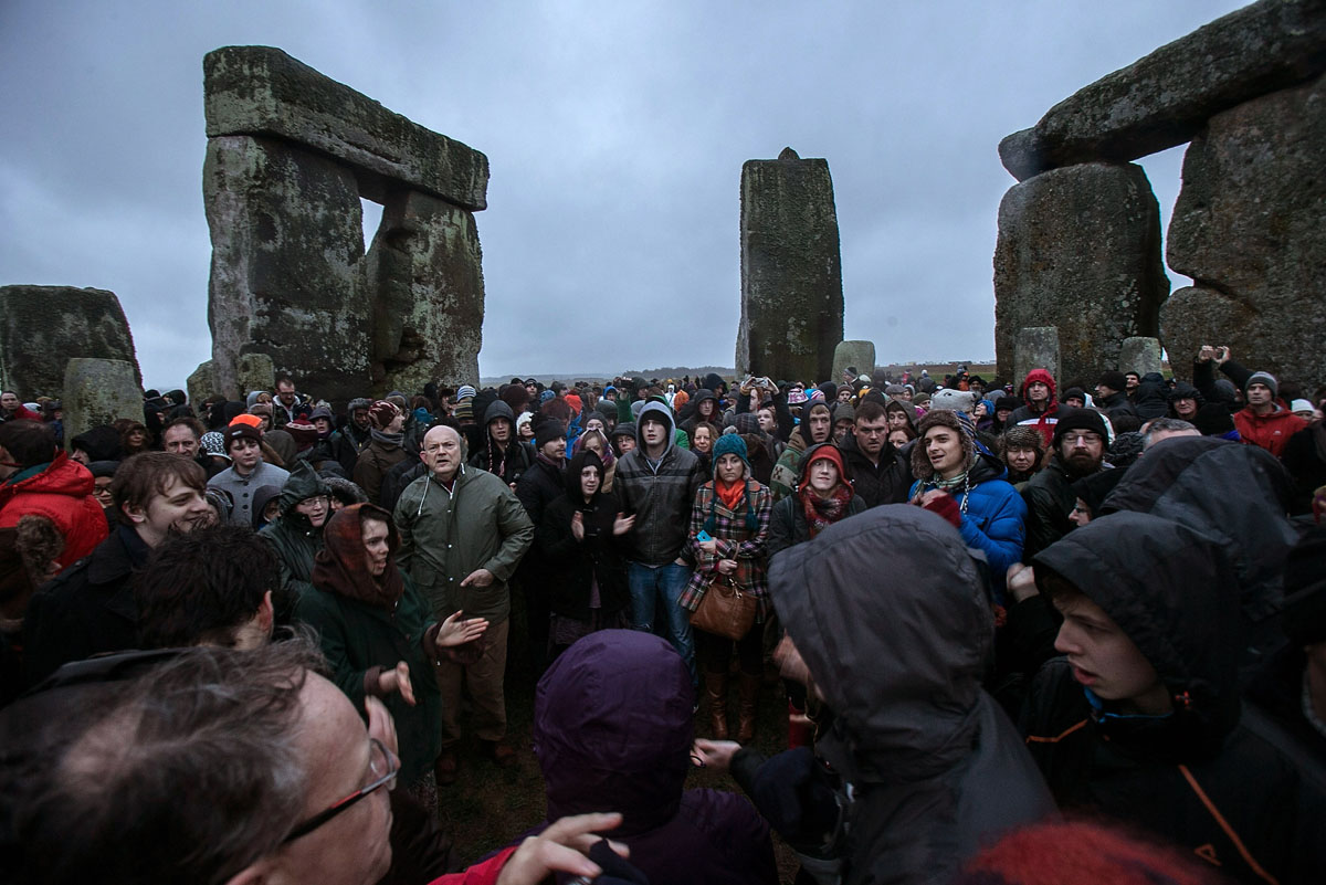 Celebrating Winter Solstice at Stonehenge