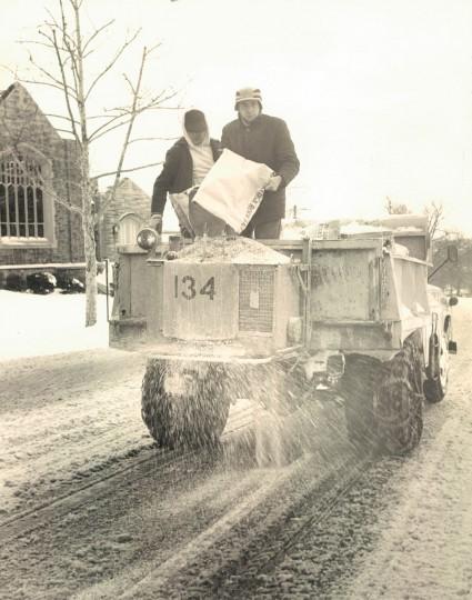 December 1960 snowfall. (Baltimore Sun file)