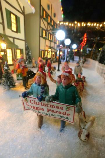 The annual Christmas Doggie Parade at the holiday resort. (Karl Merton Ferron/Baltimore Sun Staff)