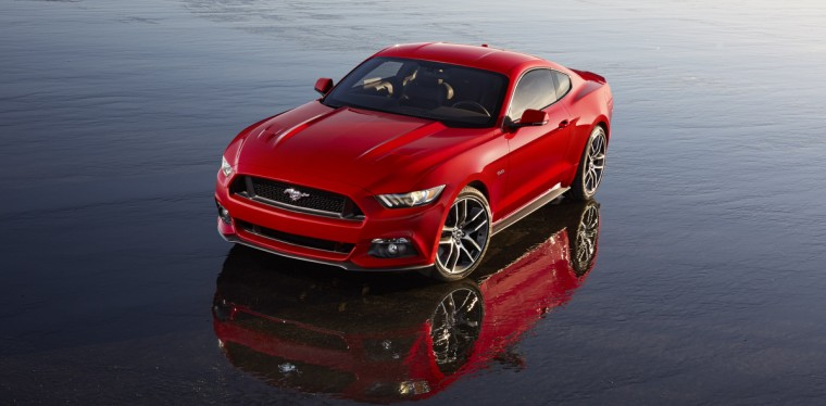 Ford unveiled the 6th generation and 50th anniversary edition of its iconic Mustang pony car. Handout photo