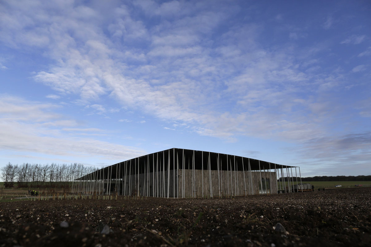 stonehenge bone display prompts protest at newly opened visitor centre. Black Bedroom Furniture Sets. Home Design Ideas