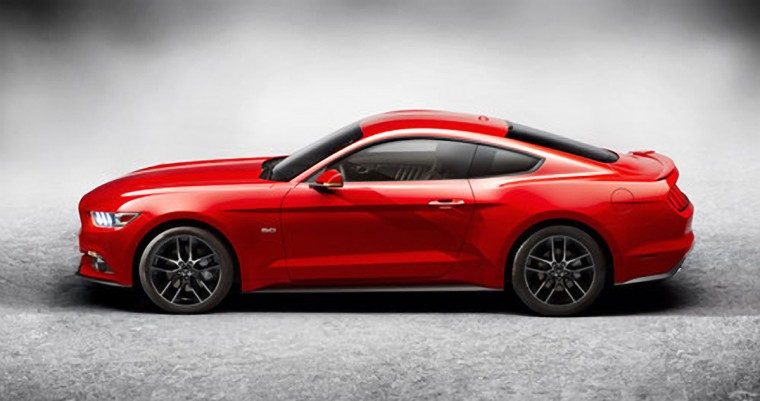 Ford unveiled the 6th generation and 50th anniversary edition of its iconic Mustang pony car.