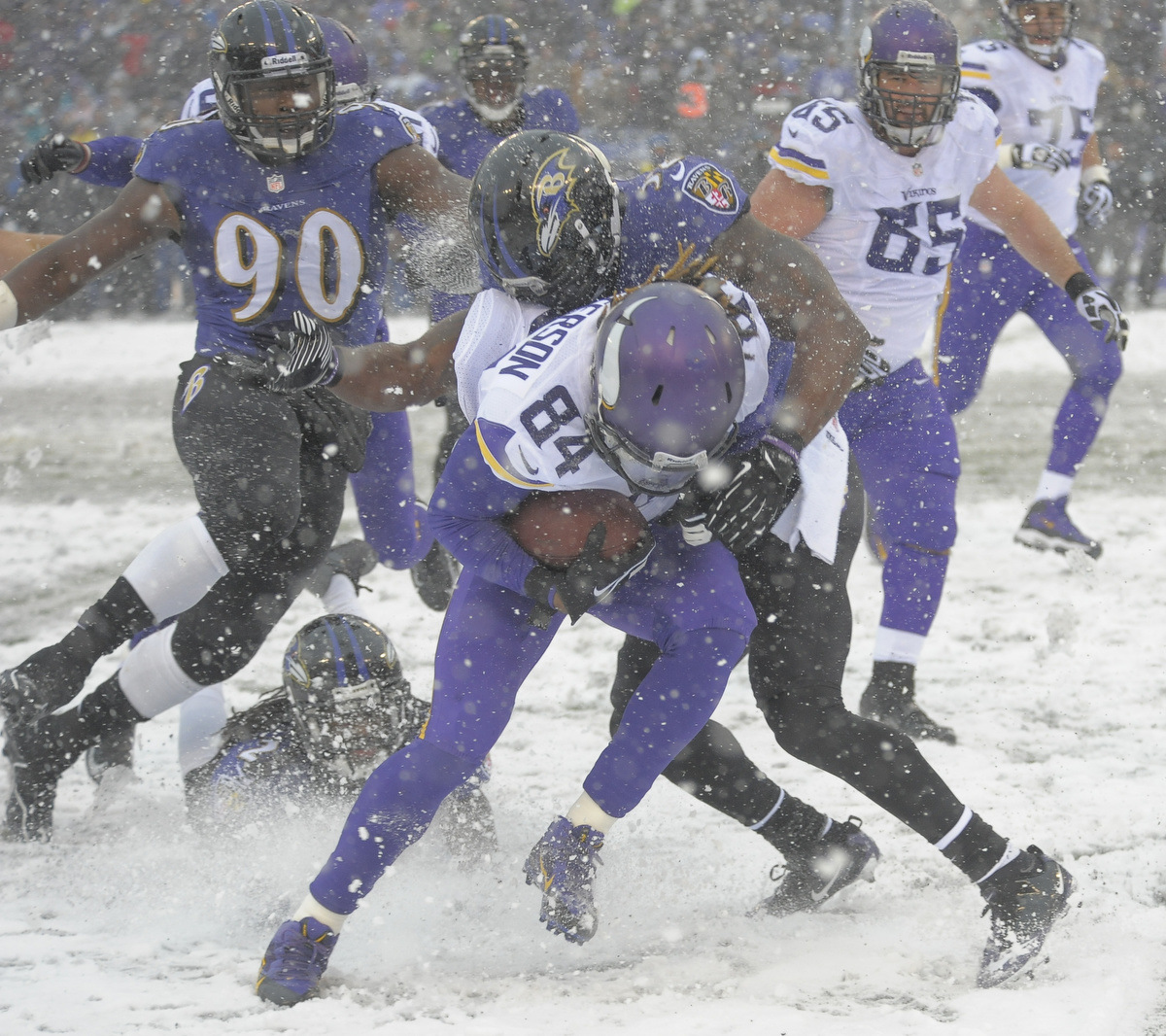Rough Cut: A raw edit from the Ravens win over the Minnesota Vikings