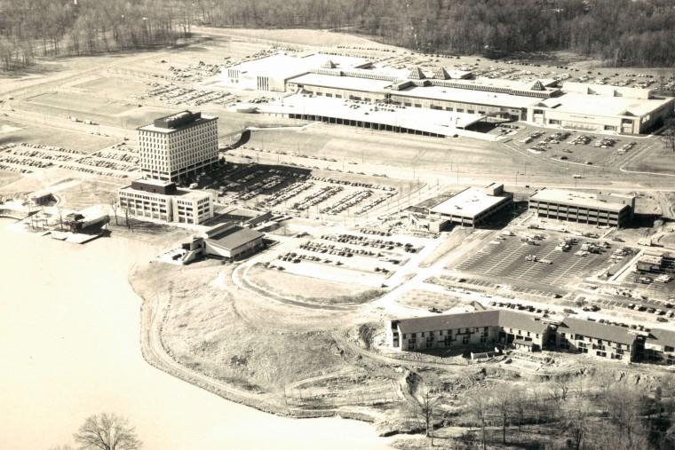 December 16, 1971 Original caption: Columbia Mall taken December 1971 aerial View (Baltimore Sun Photo/William L. LaForce)