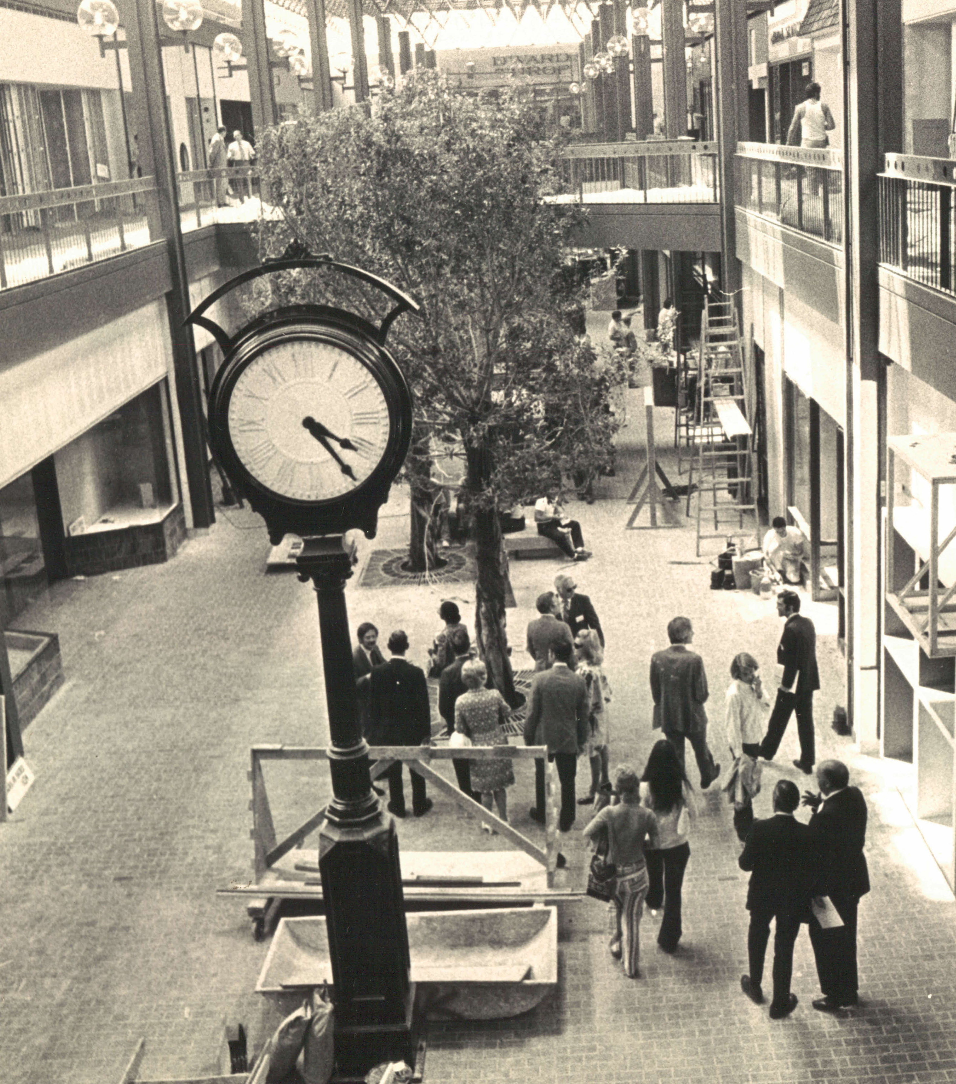 Town Center Columbia Md: History Of The Mall In Columbia