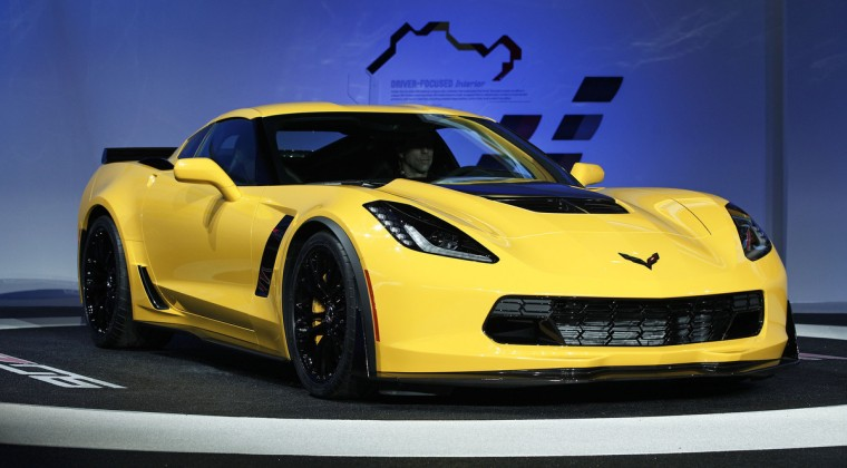 The new Chevrolet Corvette Z0-6 is revealed at the press preview of the 2014 North American International Auto Show in Detroit, Michigan. (Bill Pugliano/Getty Images)