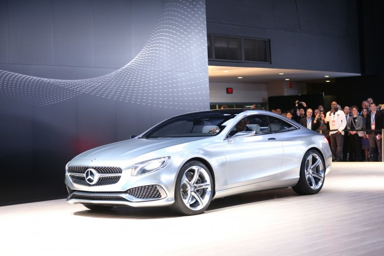The Mercedes -Benz S-Class Coupe is introduced at the 2014 North American International Auto Show in Detroit, Michigan. (Geoff Robins/AFP/Getty Images)