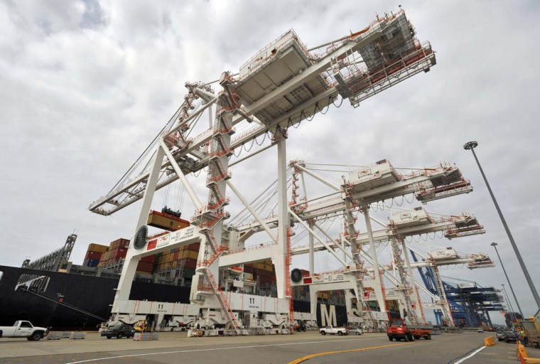 Trade numbers: The federal government on Tuesday will release tallies of U.S. international trade in goods and services for November. (Amy Davis / Baltimore Sun)