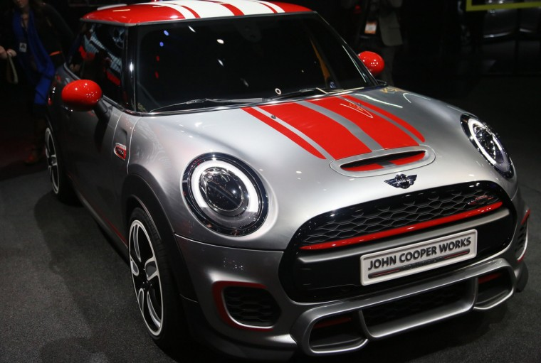 The MINI John Cooper Works Concept is displayed during the 2014 North American International Auto Show in Detroit. (Kimberly P. Mitchell/Detroit Free Press/MCT)