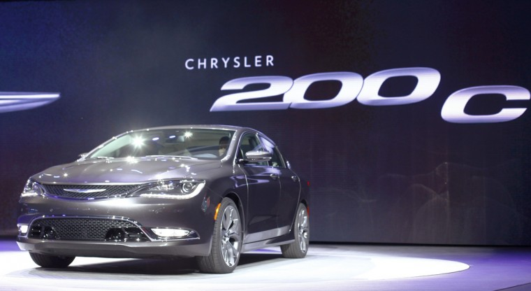 The new Chrysler 200 C sedan is unveiled during the press preview day of the North American International Auto Show in Detroit, Michigan January 13, 2014. (Joshua Lott/Reuters photo)