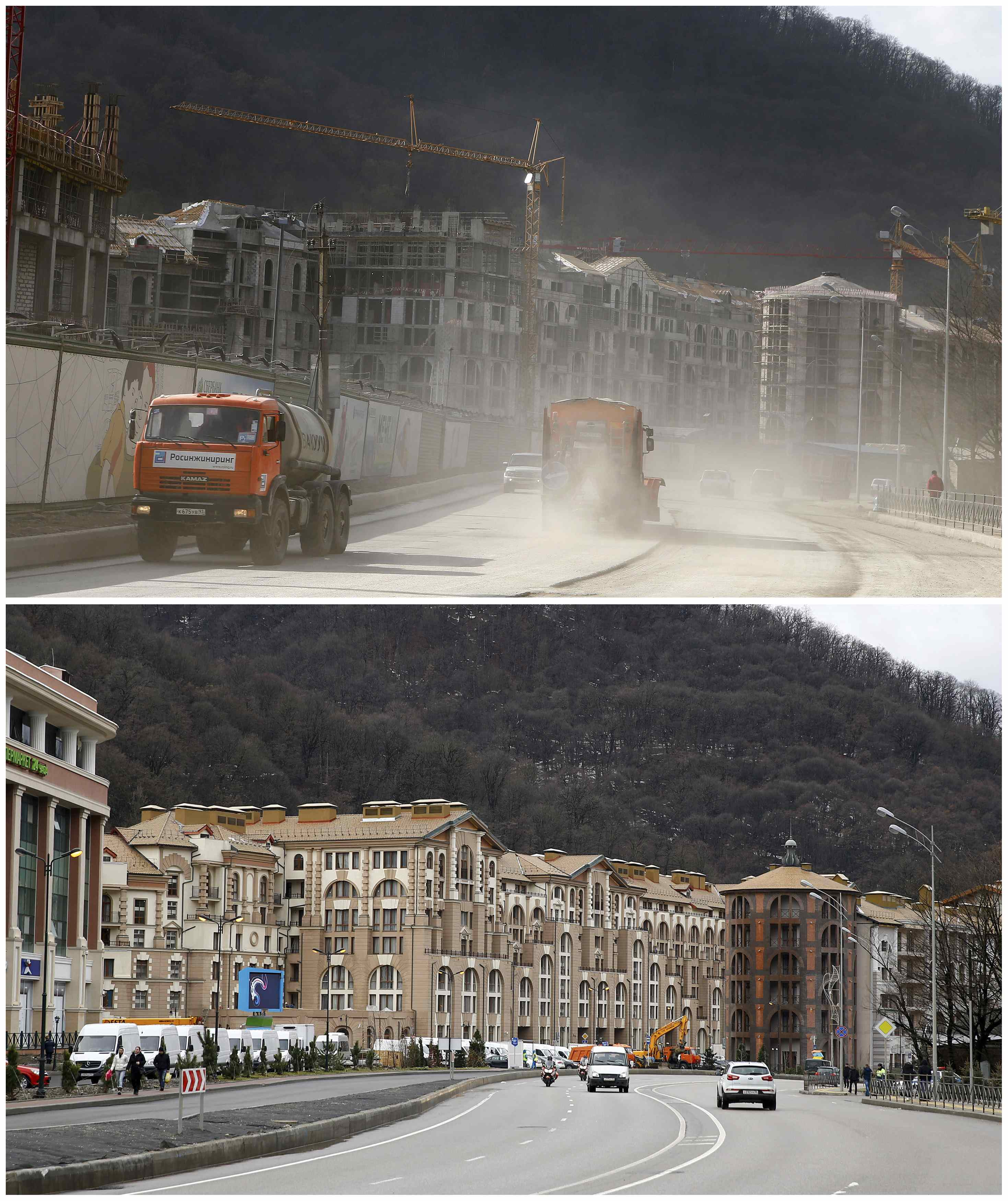 Sochi then and now: Preparing for the Olympics