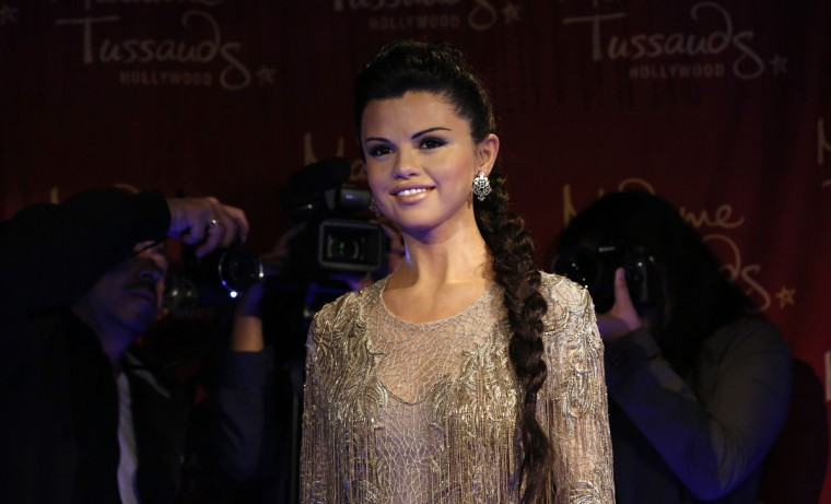 The wax figure of singer and actress Selena Gomez is pictured after it was unveiled at Madame Tussauds museum in Hollywood, California December 19, 2013. (Mario Anzuoni/Reuters)