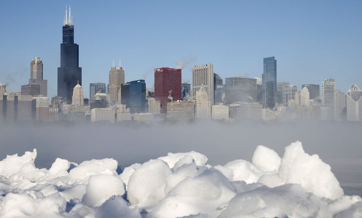 'Polar vortex' freezes East Coast, Midwest