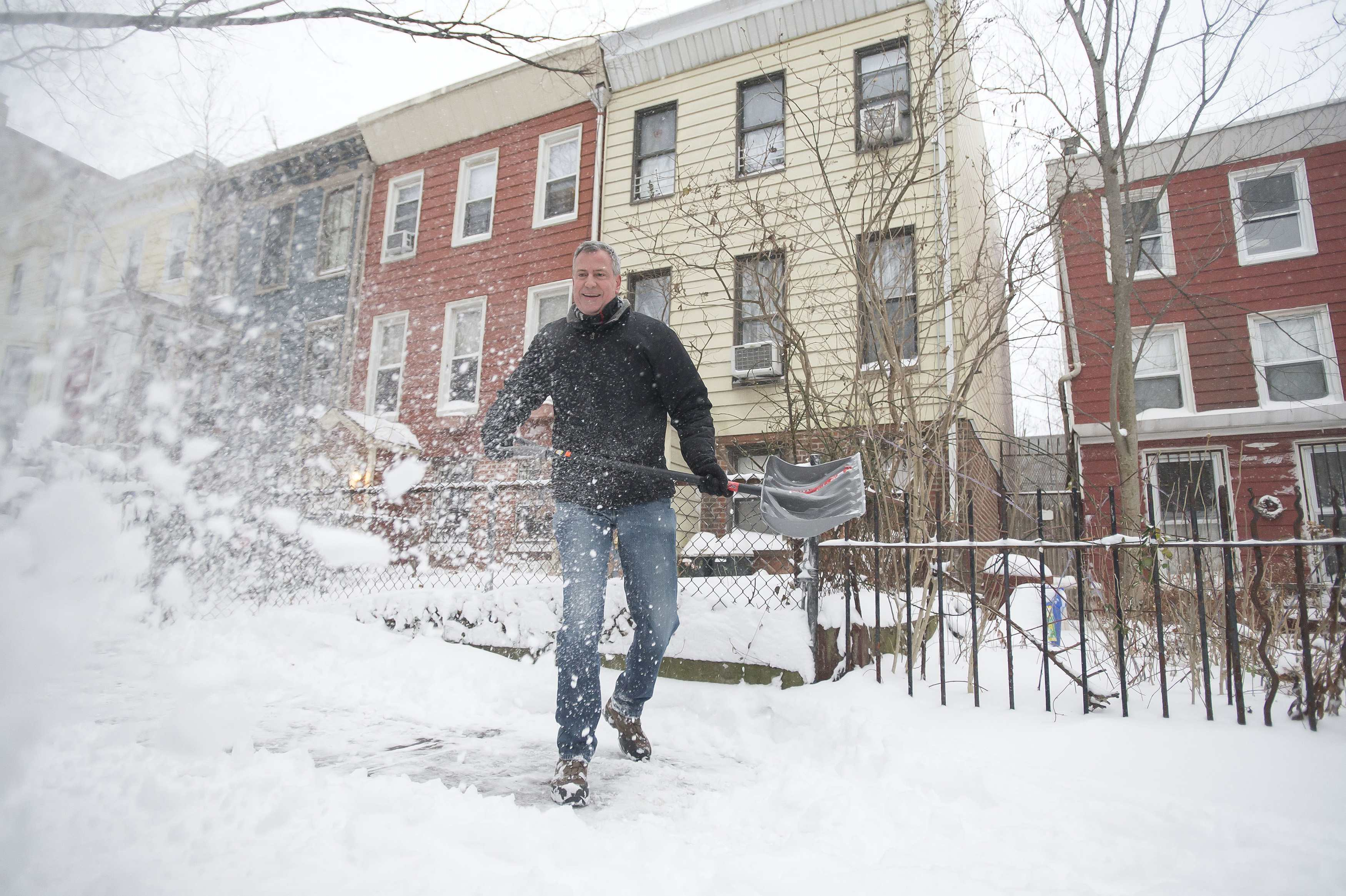 Northeast digs out after first snowstorm of 2014