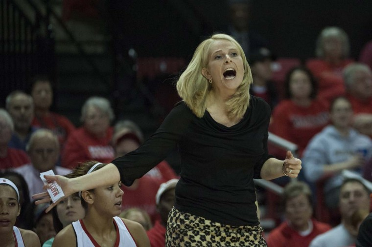 Terps women at home: Brenda Frese and her University of Maryland team will host Wake Forest in a basketball game on Thursday. (Tommy Gilligan-USA TODAY Sports)