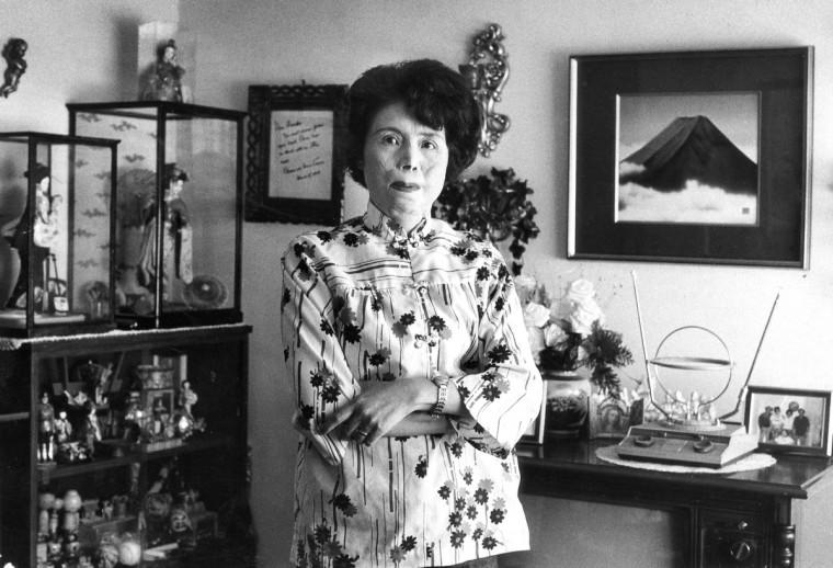 Hiroko Tasaka Harris, who survived the Hiroshima bombing. (Paul Hutchins/Baltimore Sun)