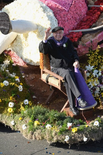 Producer Garry Marshall attends the 125th Tournament of Roses Parade Presented by Honda. (Alberto E. Rodriguez/Getty Images)