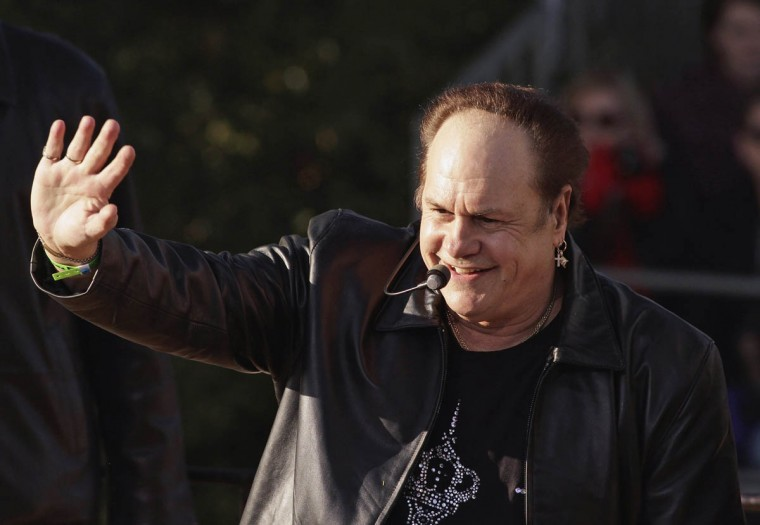 "Singer Harry ""K.C."" Casey of the KC and the Sunshine Band, performs at the 125th Rose Parade. (Jonathan Alcorn/Reuters photo)"