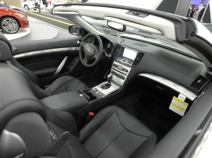 A 2014 Infinity Q60 convertible on display at 2014 Motor Trend International Auto Show at the Baltimore Convention Center. (Lloyd Fox/Baltimore Sun)