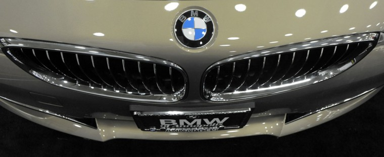 A 2014 BMW 328i on display at the 2014 Motor Trend International Auto Show at the Baltimore Convention Center. (Lloyd Fox/Baltimore Sun)
