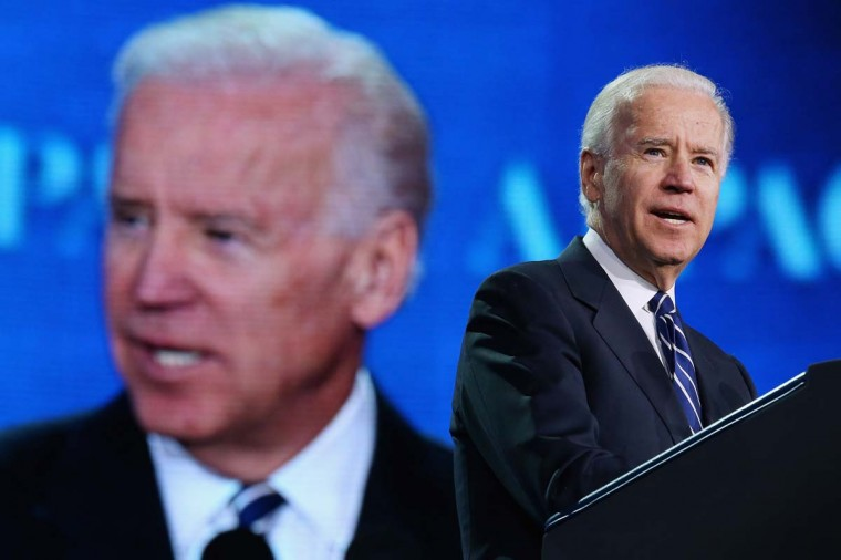 Vice President Joe Biden addresses the American Israel Public Affiars Committee's annual policy conference at the Washington Convention Center last year. The event is scheduled for March 2-4 in Washington. || Photo by Chip Somodevilla/Getty Images