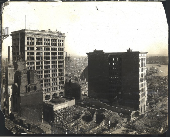 Alexander Brown and Sons Building, Looking S.E from Calvert Building. Hughes Co Photo.