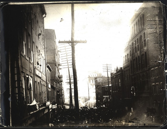 Baltimore City Fire 1904. Photographer unknown.