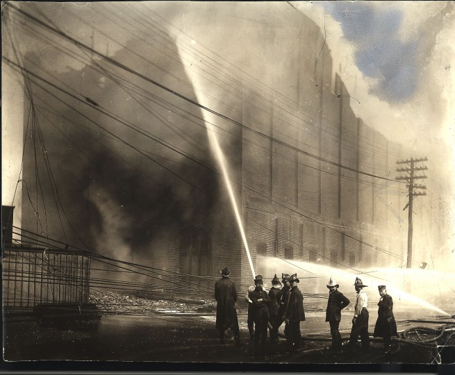 Baltimore city fire 1904, photographer unknown.