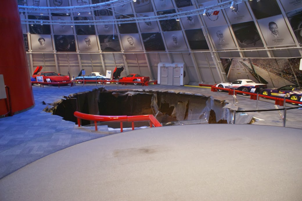 collapsed part of the national corvette museum in bowling green. Cars Review. Best American Auto & Cars Review