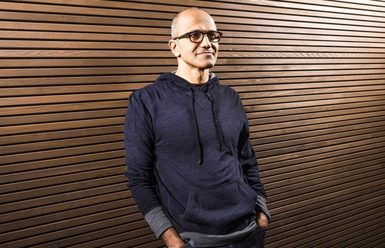 Satya Nadella, executive vice president of Microsoft's Cloud and Enterprise group, is seen in this undated Microsoft handout photograph released on February 4, 2014. Microsoft Corp named Nadella as its next chief executive officer on Tuesday, ending a longer-than-expected search for a new leader after Steve Ballmer announced his intention to retire in August. Nadella is only the third CEO in Microsoft's 39-year history, following co-founder Bill Gates and Ballmer. (Microsoft/Handout via Reuters)