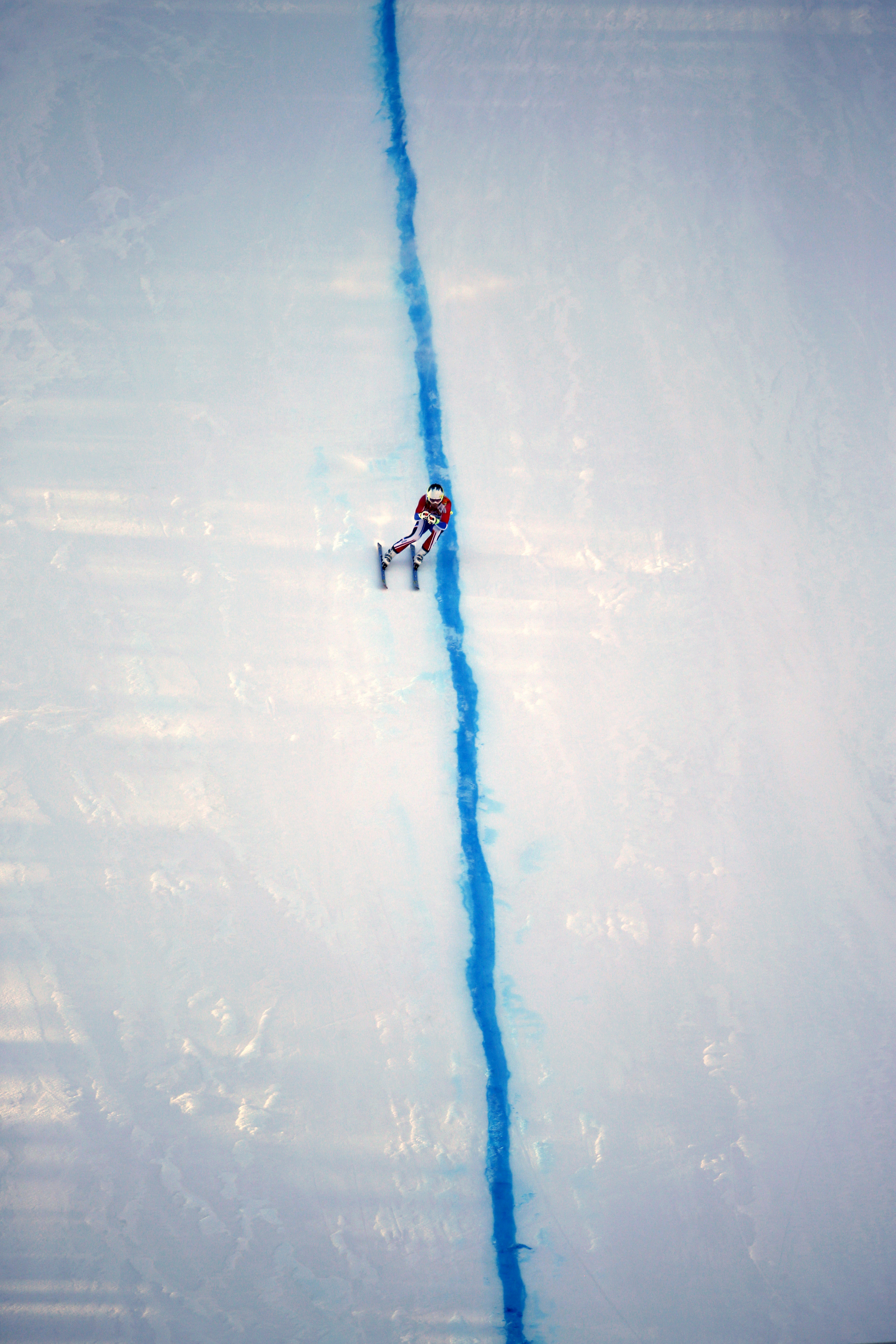 alpine skiing super combined training session at the Sochi 2014 Winter ...