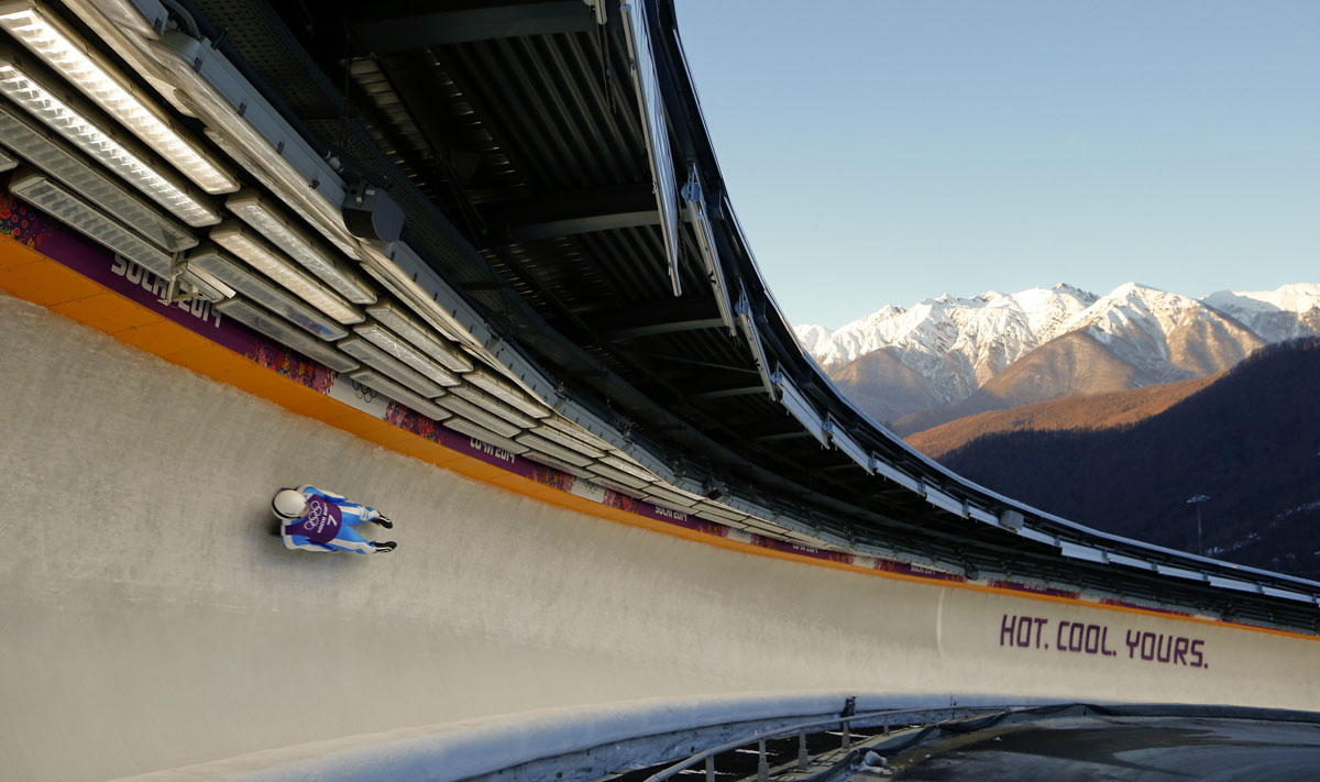 Olympic luge