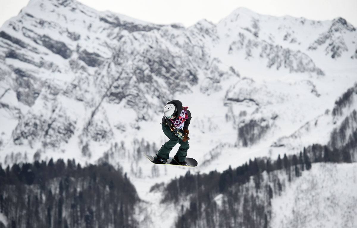 Sochi Olympics Day 4: Jamie Anderson completes U.S. slopestyle sweep