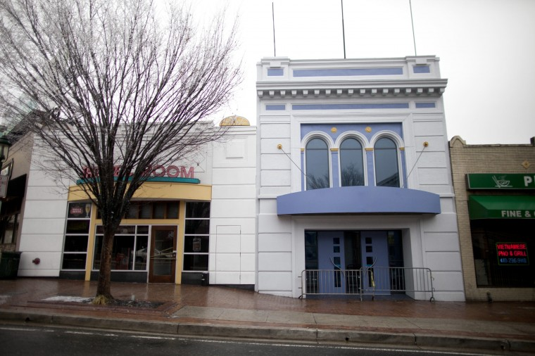 An outside photo shows the facade of the new Torrent Lounge, where the Recher Theatre had been. (Jen Rynda/BSMG)