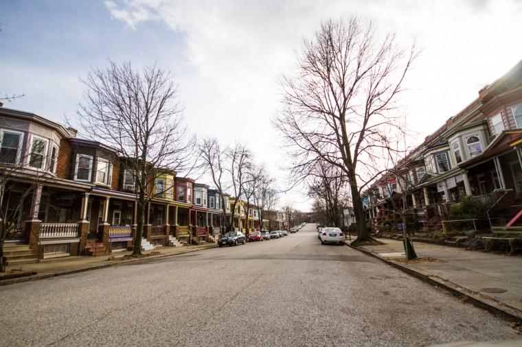 Abell Avenue, a main street in the Abell neighborhood in Baltimore. (Kalani Gordon/Baltimore Sun/2014)