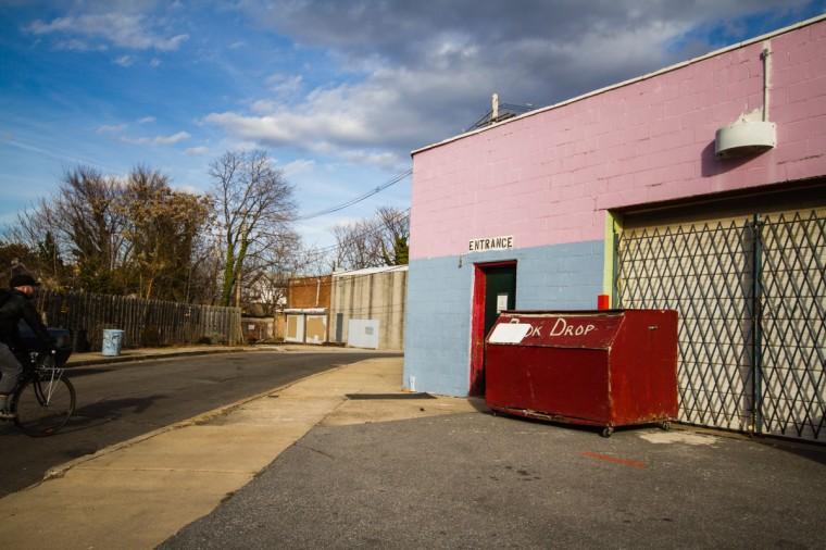 The Book Thing, a free book shop in Abell along Vineyard Lane. (Kalani Gordon/Baltimore Sun/2014)