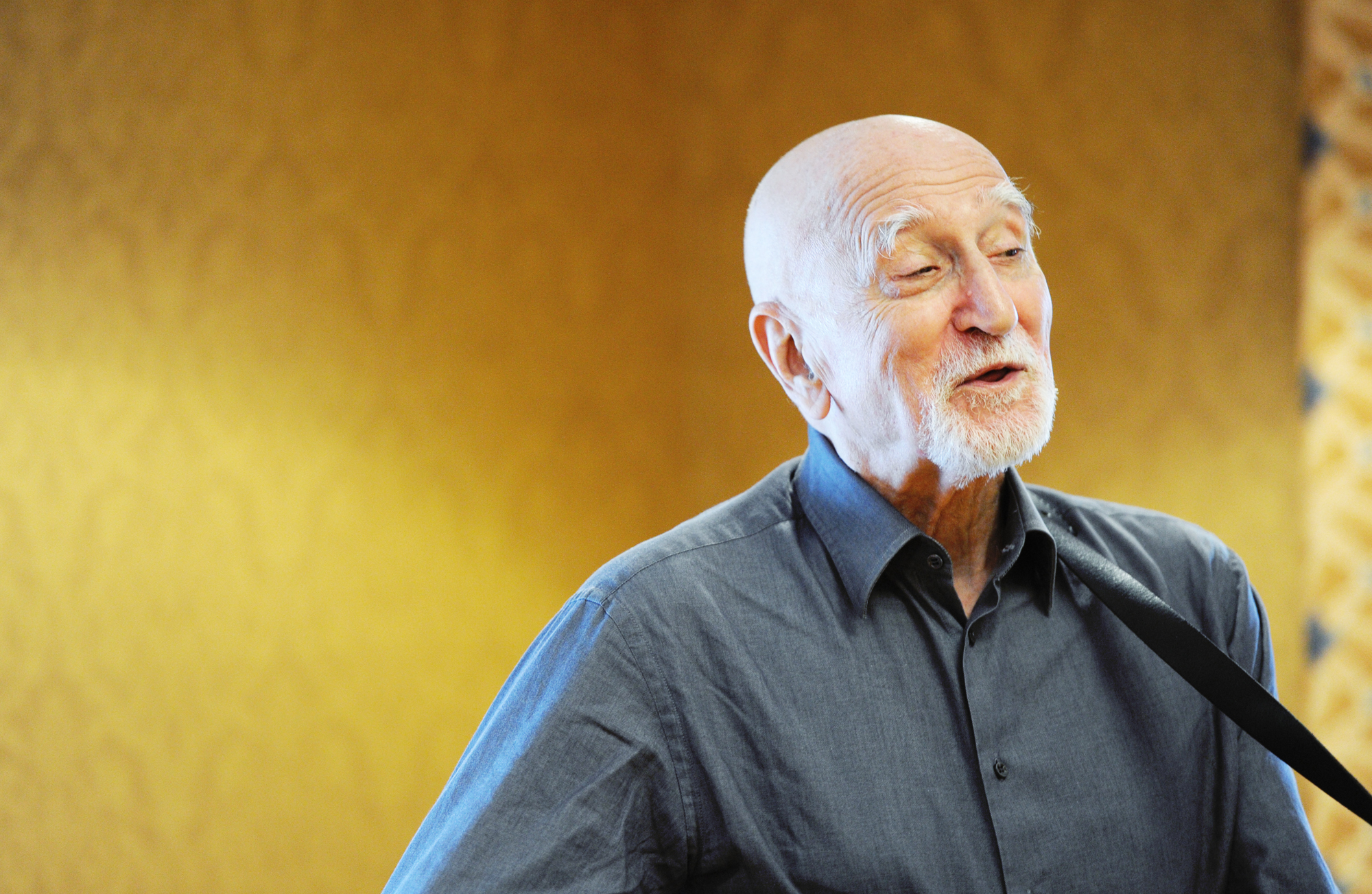 'Sopranos' actor Dominic Chianese sings for seniors at Stella Maris