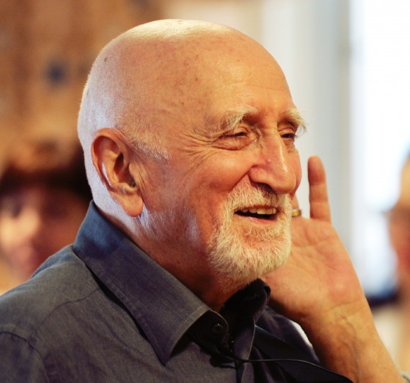 "Actor and singer Dominic Chianese, known for playing Corrado John ""Uncle Junior"" Soprano in HBO's The Sopranos, hope for participation from residents of Stella Maris nursing home in Timonium as he sings to them on Monday, Feb. 3, 2014. Chianese appeared as part of his Joy Through Art Foundation, which received a donation from the Heath Facilities Association of Maryland. (Jon Sham/BSMG)"