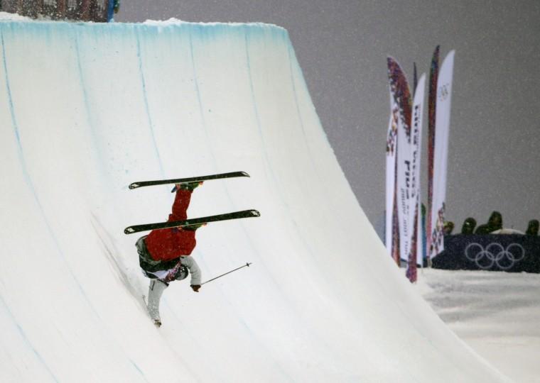 Olympics: Freestyle Skiing-Men's Ski Halfpipe Qualification