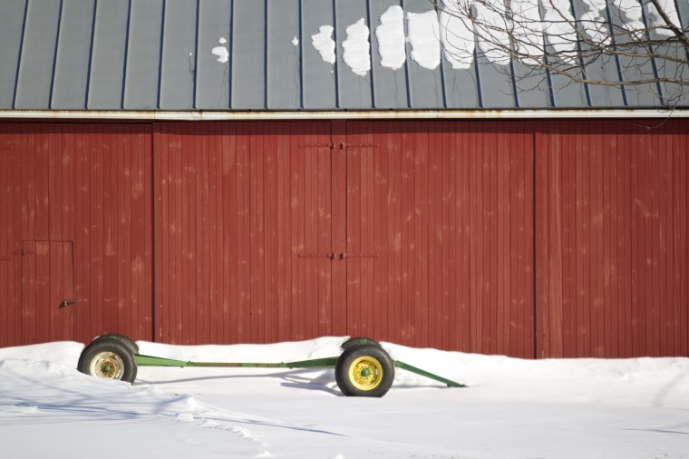 Snow covers the Carroll County Farm Museum in Westminster on Tuesday, March 4, 2014. (Jen Rynda/BSMG)