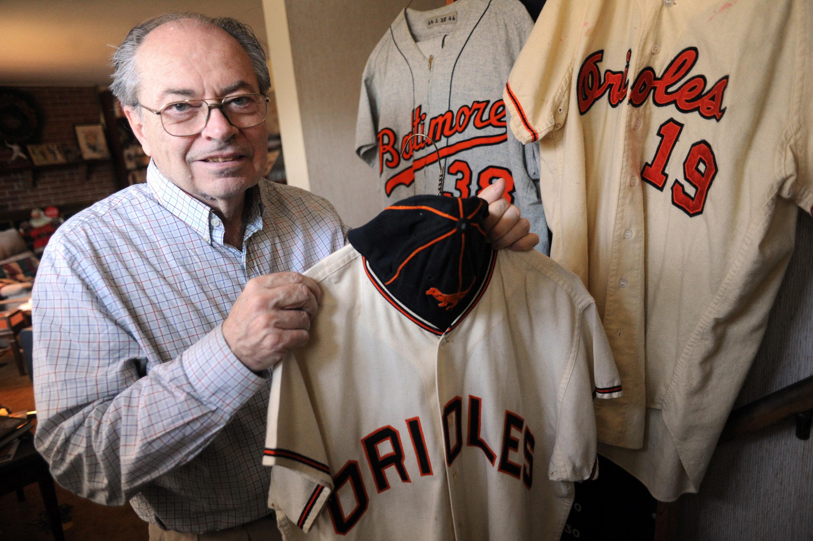 Ted Patterson's Orioles memorabilia