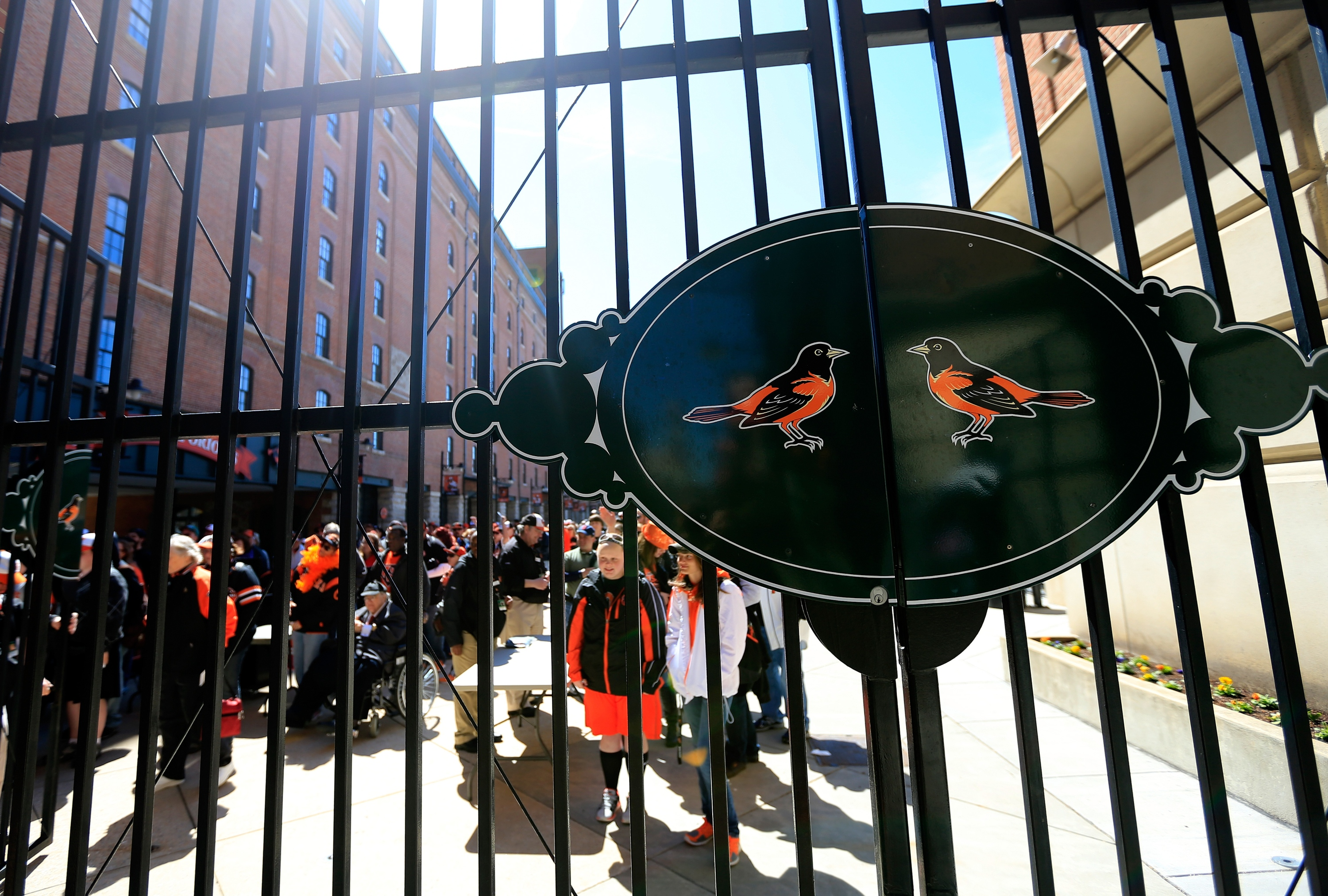 Sights and sounds of Orioles opening day