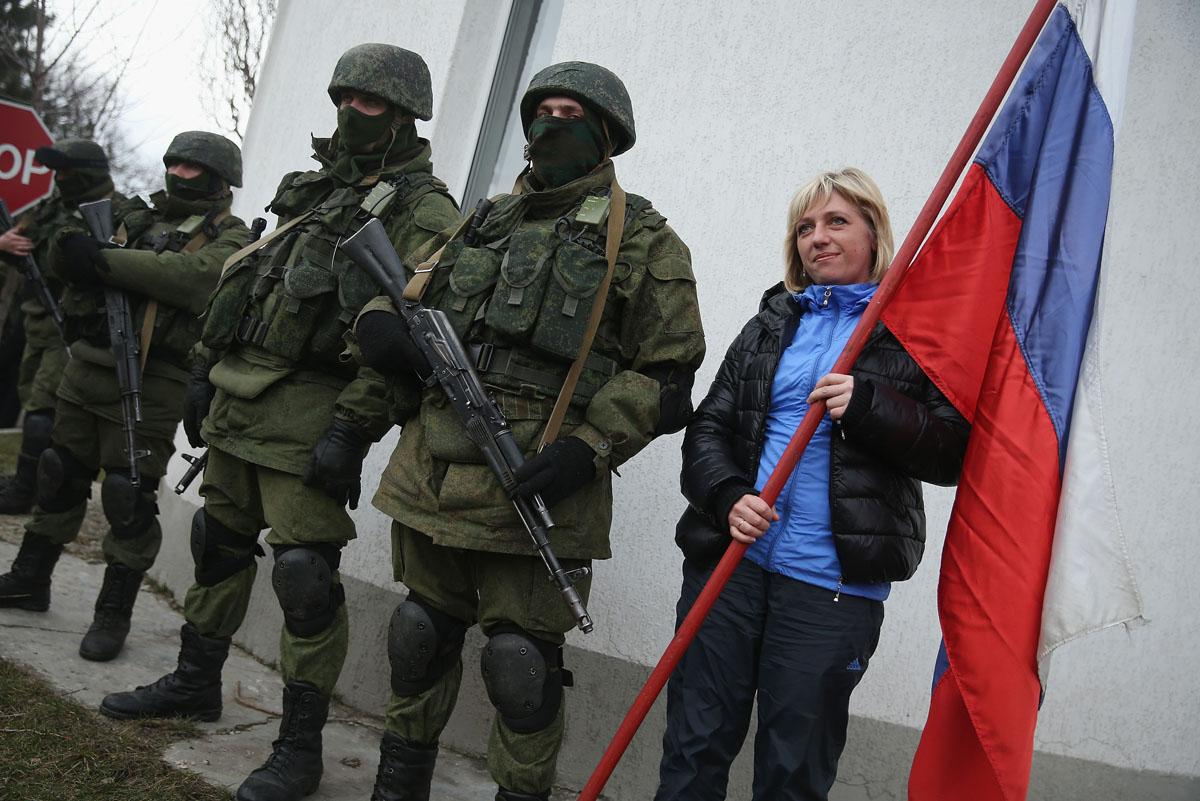 Russian woman ukraine crimea