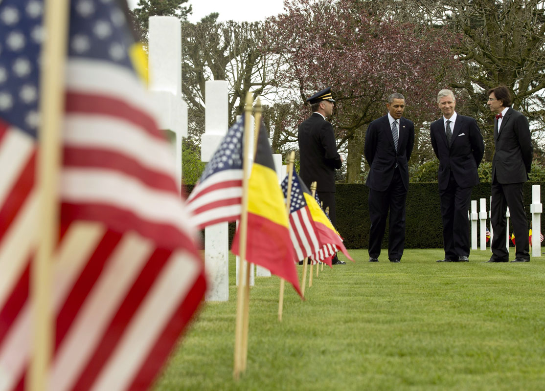 Obama at Flanders Field: Lessons of World War I 'speak to us still'